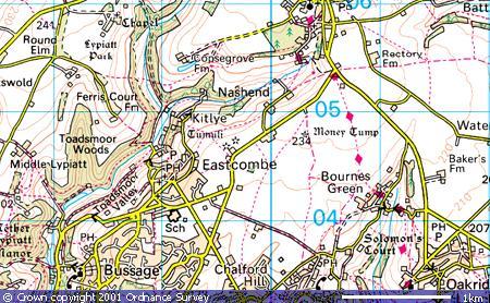Eastcombe village, Bismore, Nash End
