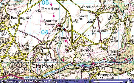Oakridge Lynch, Far Oakridge, Bournes Green, Waterlane
