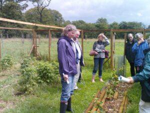 Visit to Eastington Community Orchard